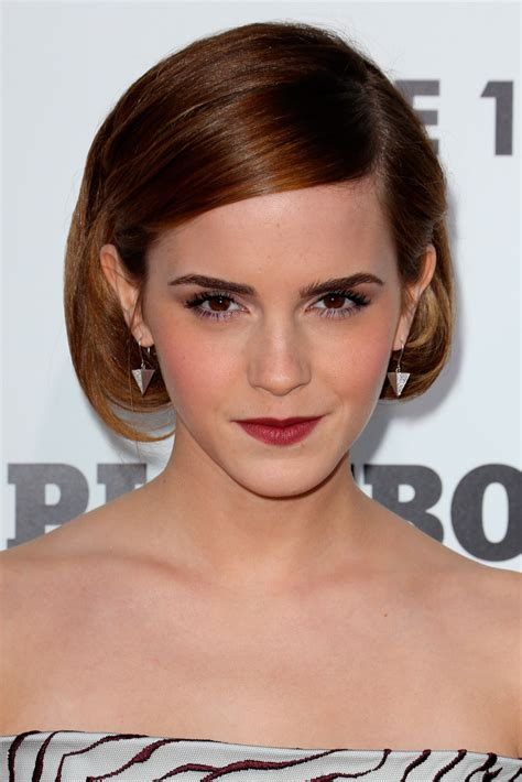 bob hairstyles marie claire bob hairstyles emma watson page 28 hair beauty