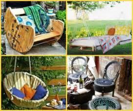 Homemade Outdoor Furniture Ideas