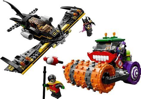 Lego Bertoyindo Mega Bloks Batman lego heroes batman the joker steam roller 76013