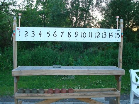 backyard scoreboards 57 best images about petanque on pinterest