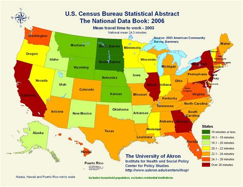 map of usa showing different states types of maps statistical map