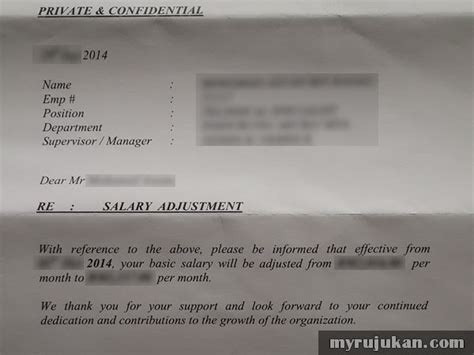 bentuk kenaikan gaji pekerja swasta malaysia myrujukan