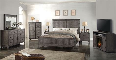 storehouse bedroom furniture storehouse gray panel bedroom set from legends furniture