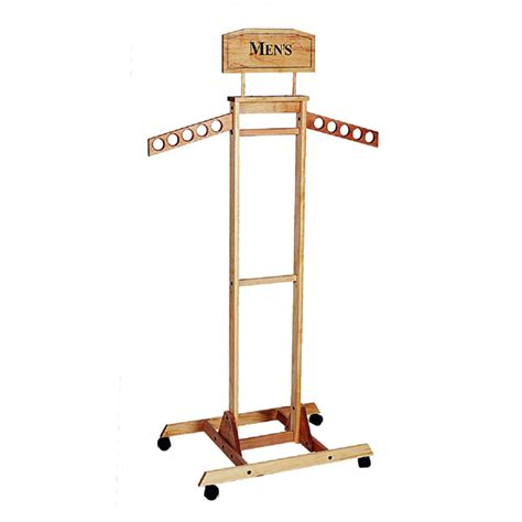 Wooden Clothing Rack by Tower Wooden Clothing Rack Trio Display