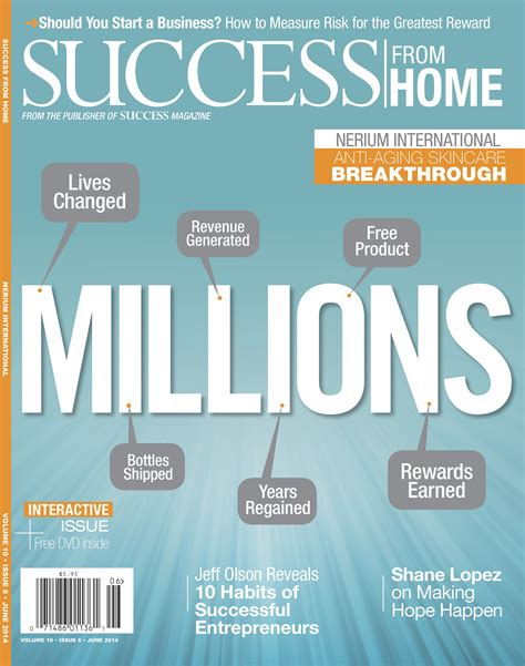 nerium international profiled in the june 2014 issue of