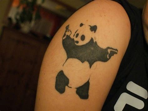 tattoo gun for animals 25 sweet panda tattoo design collection