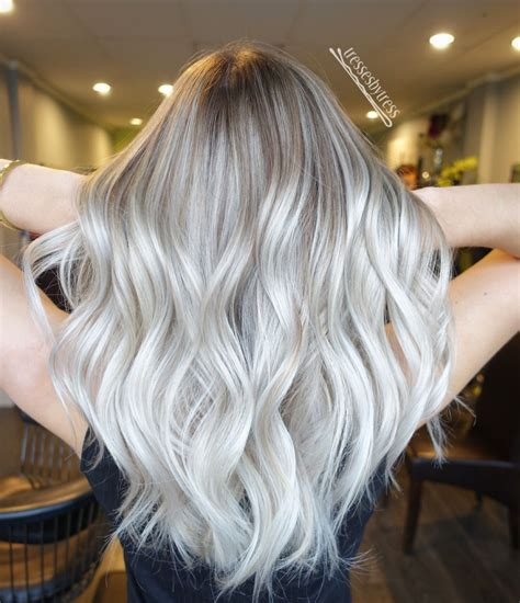silver blonde color hair toner redken shades eq 09p 09v clear hair pinterest