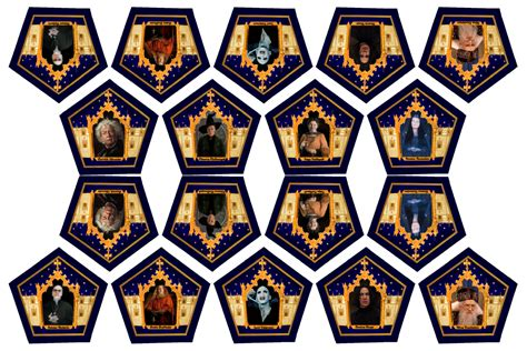 harry potter chocolate frog cards templates 6 best images of printable chocolate frogs wizard cards