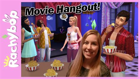 film hangout 2016 the sims 4 movie hangout stuff pack announced youtube