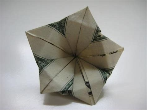 Origami Dollar Flower - money origami 10 flowers to fold using a dollar bill