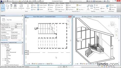 revit tutorial stairs working with component based stairs