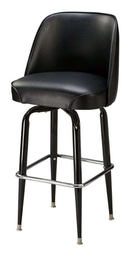 Commercial Swivel Bar Stools | regal seating model p2 commercial bucket swivel bar stool