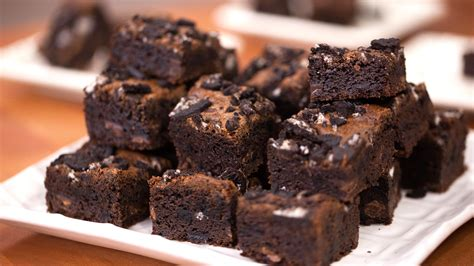best chocolate brownies one bowl chewy oreo brownies today