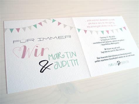 Trauung Einladung by Perfekt Unperfekt Wolmerath