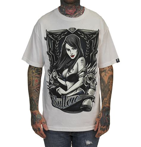 tattoo online clothing store in time mens tee white tattoo clothing sullen