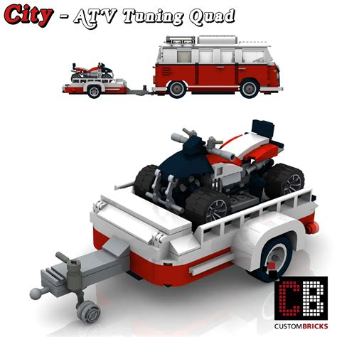 Auto Tuning A Tv by Lego Custom Vw T1 Bus Atv Tuning Quad 10220 Cb0 The