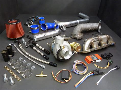 Kia Spectra Turbo Stage 1 Complete Turbo Kit 1 8 2 0 Beta I Ii