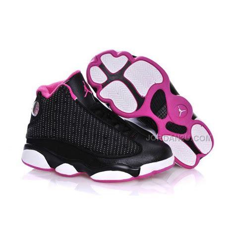 jordans shoes for kid 13 black hyper pink white free shipping price