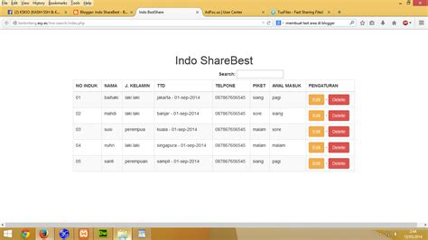 tutorial php css tutorial live search dengan jquery php css indo
