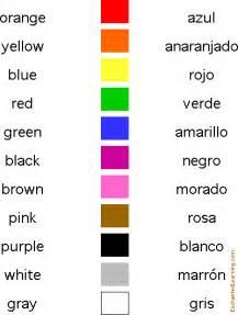 Colors in spanish matching quiz enchantedlearning com