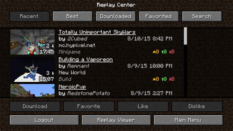 mod game center review the replay mod a game changer in minecraft
