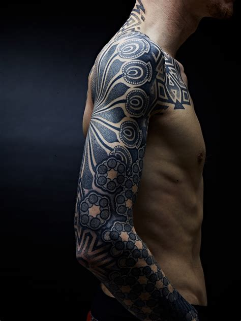 geometric sleeve tattoo best designs for in 2016 the xerxes