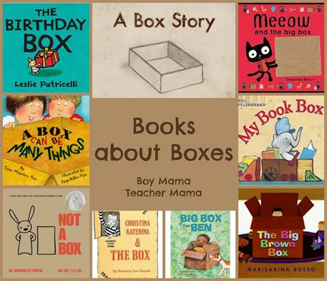 boxes for preschoolers book books about boxes boy
