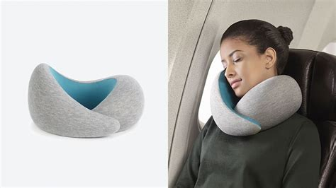 pillow comfortable sleep ostrich pillow go provides a soft undulated shape that