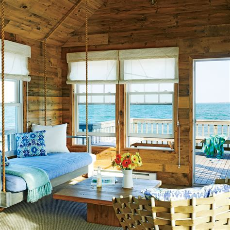 Coastal Homes Decor by Rustic Beach House Living Room 5 Tiny Coastal Cottages