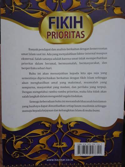 Fikih Ekonomi Umar buku fikih prioritas toko muslim title