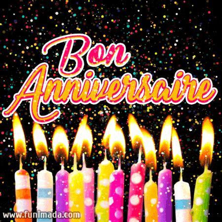 joyeux anniversaire cartes  images gif   funimadacom