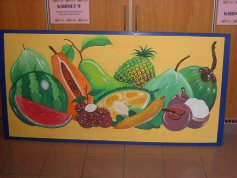 pelukis mural shah alam buah buahan sayuran