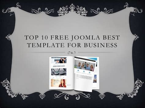 joomla templates best top 10 free joomla best template for business