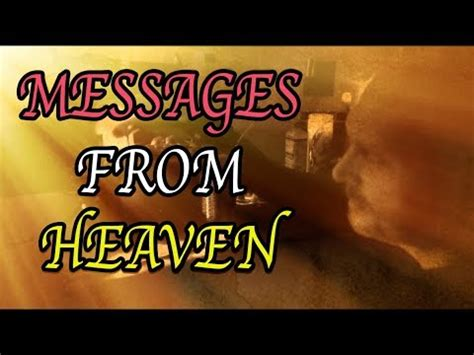 messages from heaven youtube i finally accepted this gift messages from heaven youtube