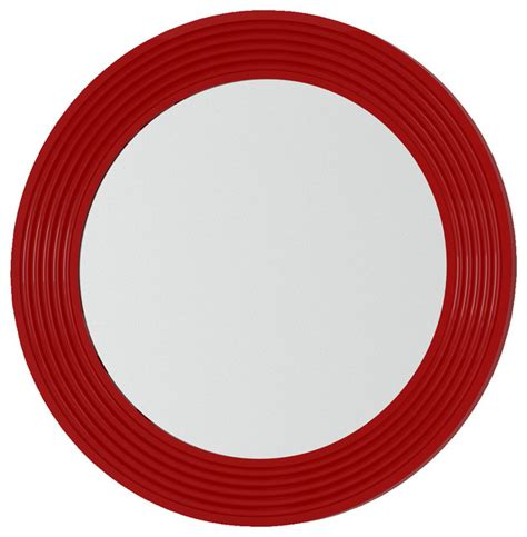 red bathroom mirror verona 31 quot 1 2 oval mirror red modern bathroom mirrors