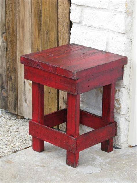 Pallet Side Table Diy Pallet Medium Side Table Pallet Furniture Diy
