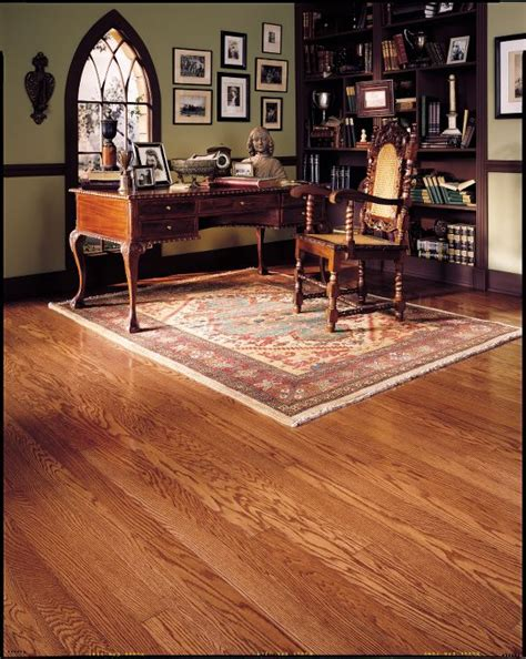 Prefinished Hickory Flooring by Bruce Pioneer Oak Gunstock 7 32 Amp L0100 Hardwood Flooring