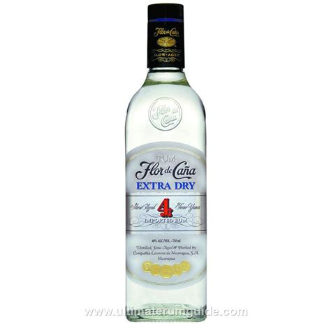 extra dry flor de ca 241 a extra dry white 4 year ultimate rum guide