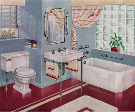 images of mid century bathrooms 1940s bathrooms retro