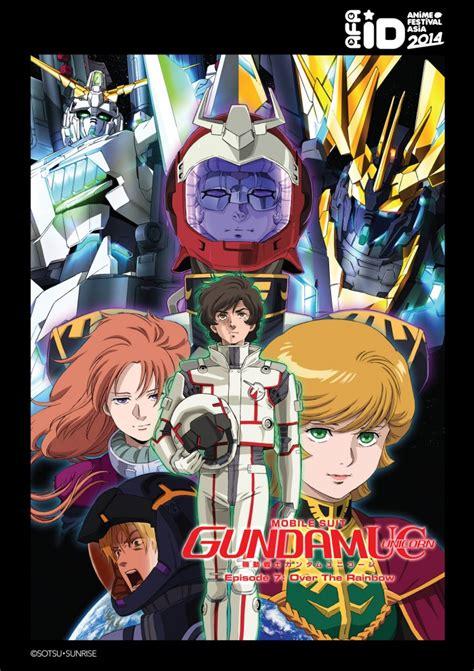 film anime gundam mobile suit gundam unicorn movie anime festival asia
