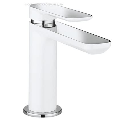 bathroom basin mixer taps uk crosswater pier monobloc basin mixer tap pi110dnc