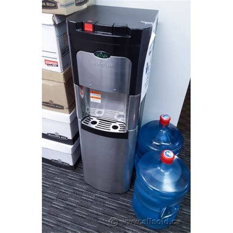Water Viva viva self cleaning black and stainless steel water cooler