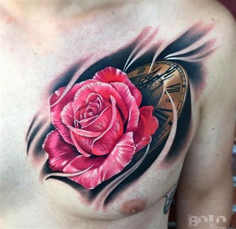 rose chest tattoos for men 70 gorgeous tattoos that put all others to shame