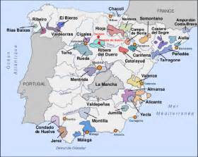 Spain Wine Map by Spanish Wine Decanted Wine Amp Beer Blog