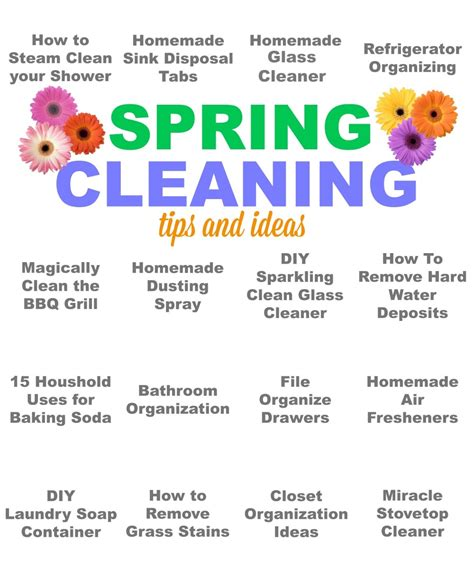 spring cleaning tips and tricks pinkwhen crafting cooking creating