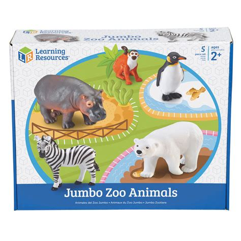 Spesial Knob Puzzle Zoo Animals jumbo zoo animals 5 set