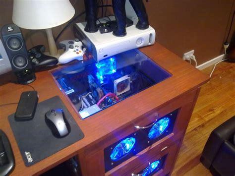 17 Best Images About Pc Modding Desk Gaming Gadgets On Computer Desk Mods