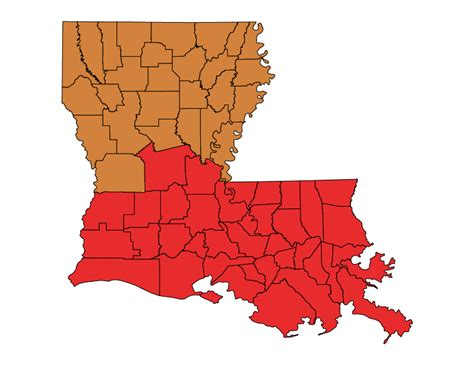 louisiana map climate change state code status louisiana the building codes