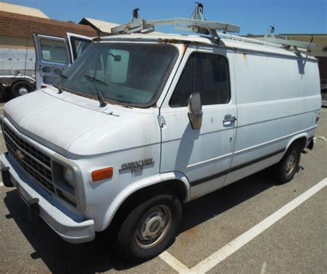 hayes car manuals 1994 chevrolet g series g10 user handbook 1994 chevy g10 cargo van w roof rack see details for sale chevrolet g20 van 1994 for sale in