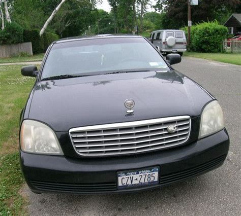 how it works cars 2003 cadillac deville transmission control find used 2003 cadillac deville black loaded needs work in long island new york united states